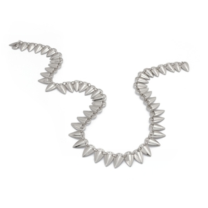 Rahya Grain Link Necklace Accessories Jewelry