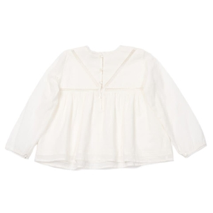 BONTON Blouse with Lace Insert