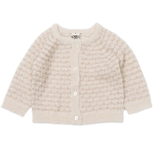 BONTON Cardigan Mohair Lurex BB Off White
