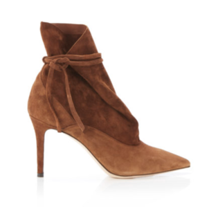 Marion Parke Millie Bootie in Cocoa Shoes