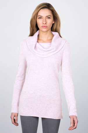kinross cashmere Marilyn Pullover - Ballet Slipper Tops