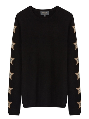 Wyse Cashmere Ziggy Star Sleeve Sweater Tops