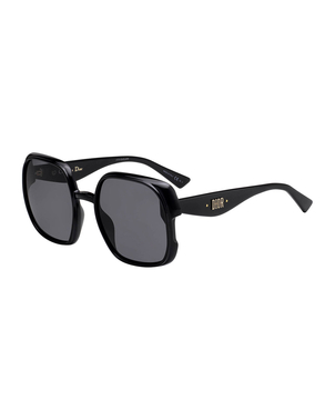 Christian Dior Nuance Black Square Sunglasses Accessories