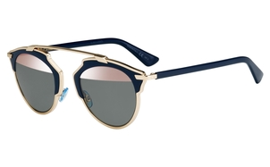 Christian Dior SoReal Rose Gold & Blue Sunglasses Accessories