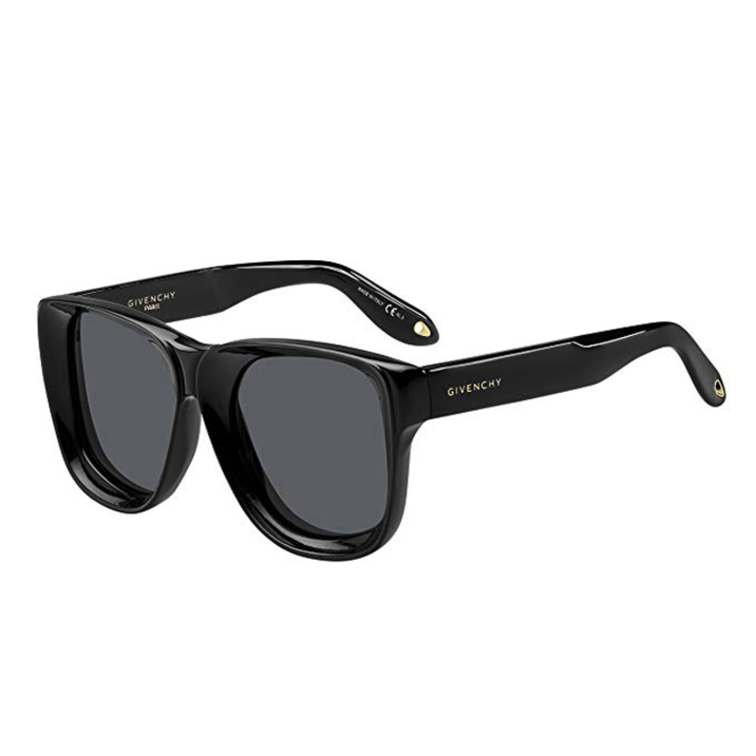 Givenchy Black Beveled Frame Sunglasses Accessories