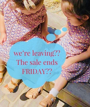 LAST CHANCE!! Our sale ends Friday! Dont miss your last chance to get GREAT deals!!