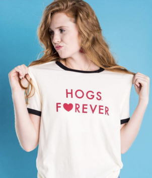 Hogs Forever Tee Tops