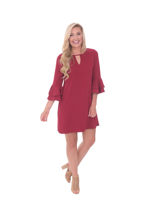 LaRoque Harlow Dress - Cranberry Dresses