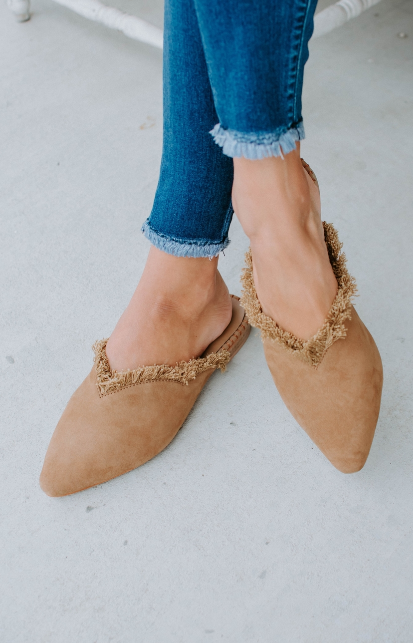 Free People Newport Flat - Taupe Shoes