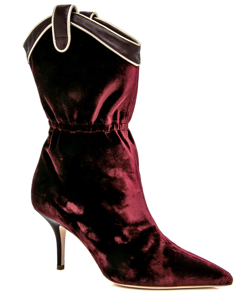 Malone Souliers Malone Souliers Wine Daisy Shoes