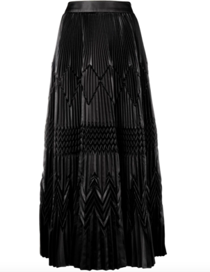 Givenchy Black Pleated Skirt Skirts