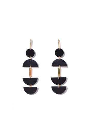 Isabel Marant Seriously Long Earring in Black Jewelry