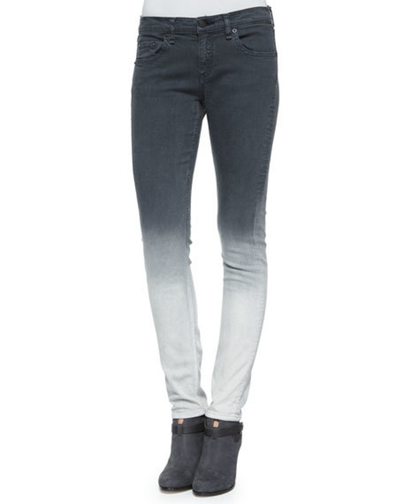 rag & bone Dre Jeans - Charcoal Pants