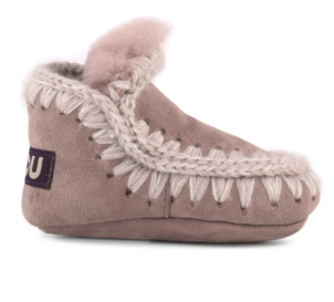 Mou Infant Eskimo Suede - Antic Rose