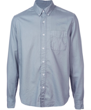 Save Khaki United GARMENT DYE OXFORD SHIRT Men's