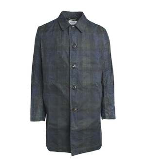 Freemans Sporting Club WAXED RAINCOAT Men's