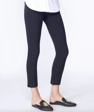Veronica Beard Scuba Legging - Black Pants