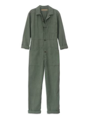 Bliss and Mischief Flight Suit in Army Green