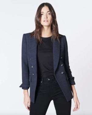 Veronica Beard Lonny Dickey Jacket - Navy Outerwear