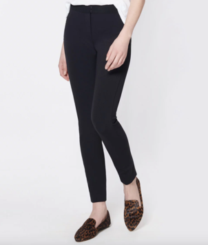 Veronica Beard Tapered Pant - Black Pants