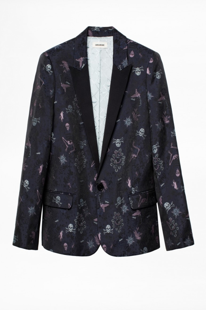 Zadig & Voltaire Zadig and Voltaire Victor Tattoo Jacket Outerwear