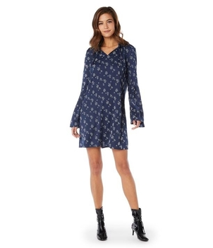 Michael Stars Floral Bell Sleeve Dress Dresses