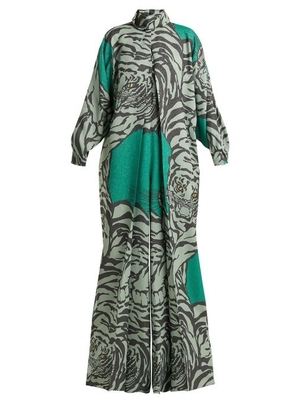 Valentino Tiger Printed Jumpsuit