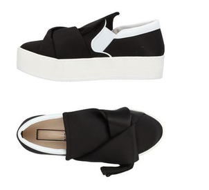 N°21 Sneaker with Bow Sale Shoes