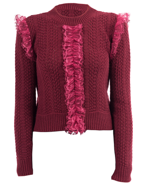 Giambattista Valli Embroidered Pullover Tops
