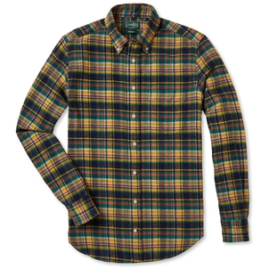 Gitman Vintage VINTAGE HUNTER PLAID FLANNEL Men's