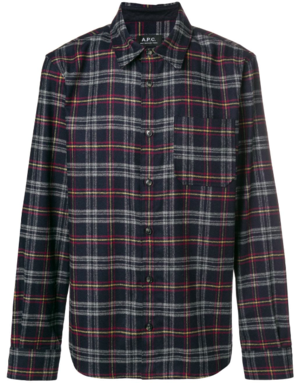 A.P.C. ATTIC FLANNEL SHIRT Men's
