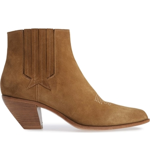 Golden Goose Deluxe Brand Golden Goose Tan Suede 'Sunset Star' Boot