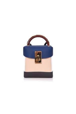 The Volon Box Basic in Navy/Ivory Bags