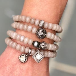Savannah Jade Stretch Bracelets