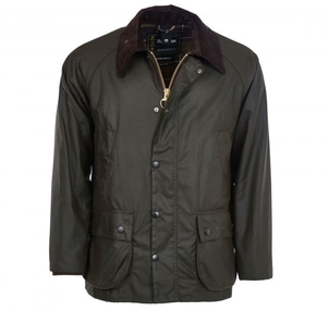 Barbour Bedale Wax Jacket in Olive Men's