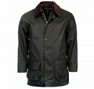 Barbour Beaufort Wax Jacket in Sage Men's