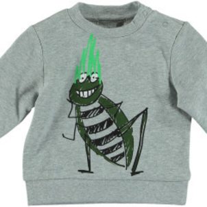 Stella McCartney Biz Baby Boy Hand Drawn Bug Sweatshirt