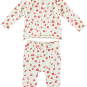 Stella McCartney Buster Macy Baby Bug Print 2 PC Set