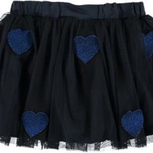 Stella McCartney Honey Girls Star Patched Tulle Skirt