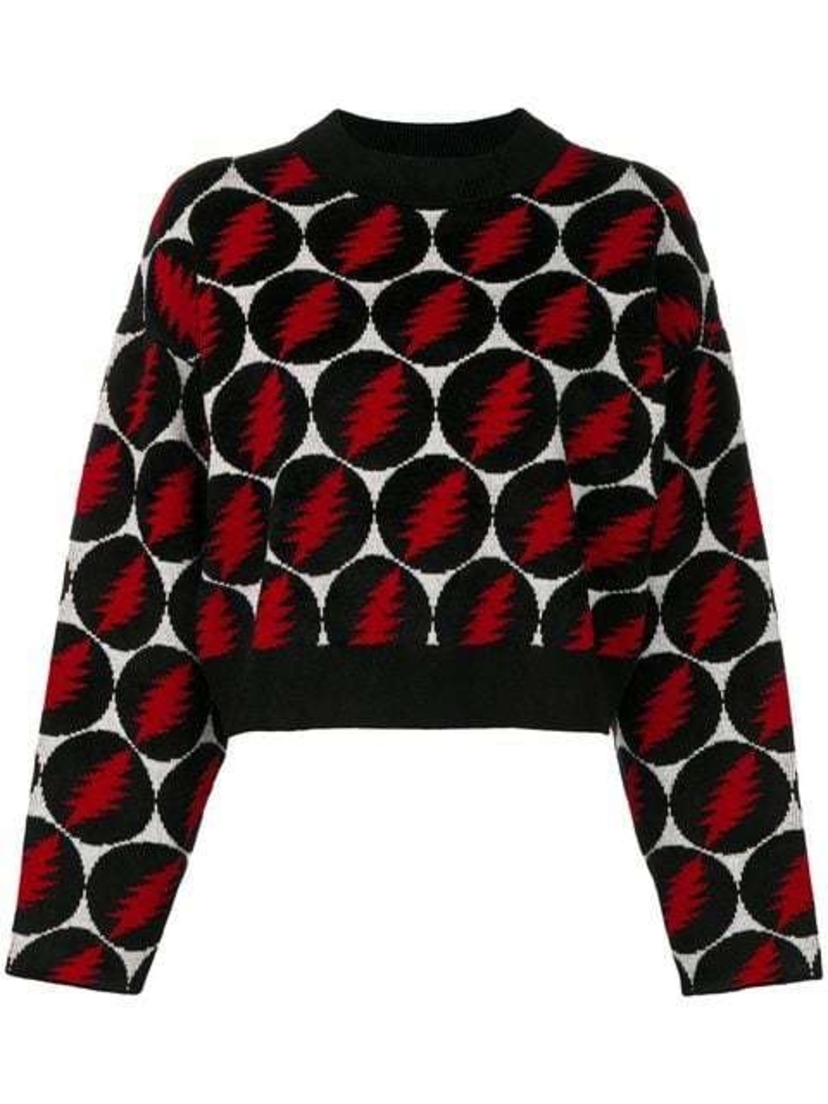 Proenza Schouler Grateful Dead Printed Sweater (Originally $975) Sale