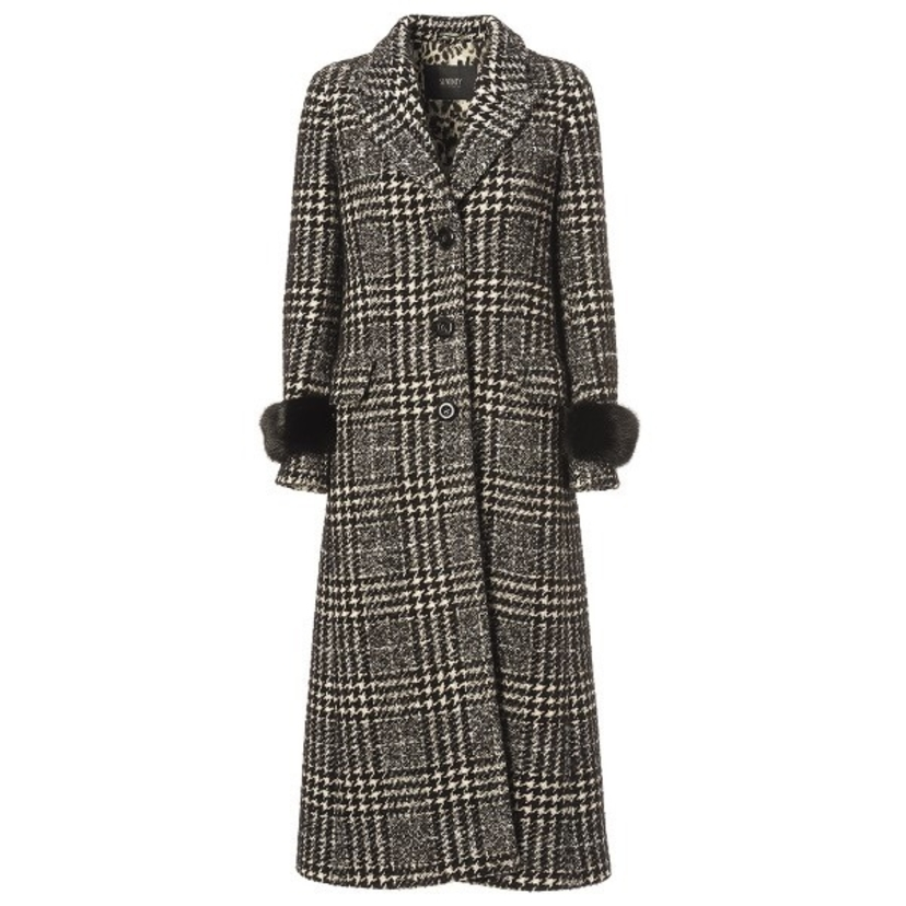 Seventy Winter Tweed Coat Outerwear Sale