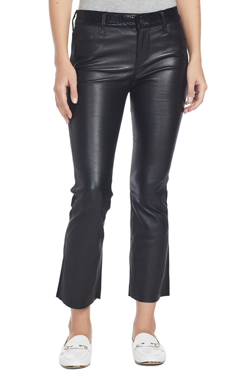 best sell new lifestyle cute cheap Mimi Leather Pants (Night Blackness) | House Account