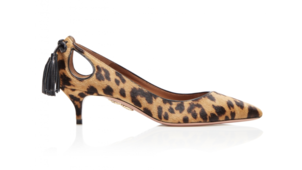 Aquazzura Forever Marilyn Pump 45 - Leopard Shoes