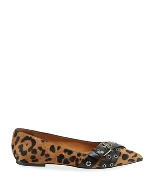 Veronica Beard Maxine Flat - Leopard Shoes