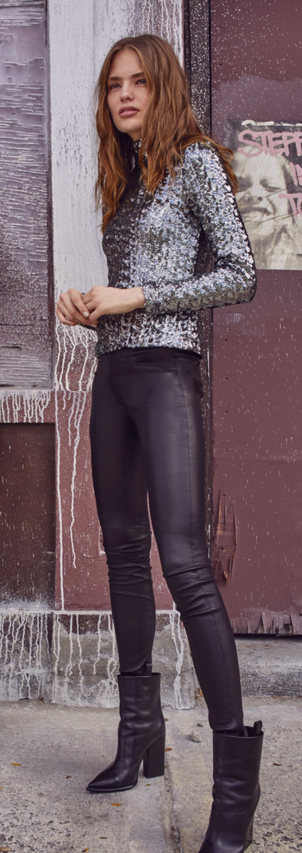 Alexis Dormer Leather Pants Pants