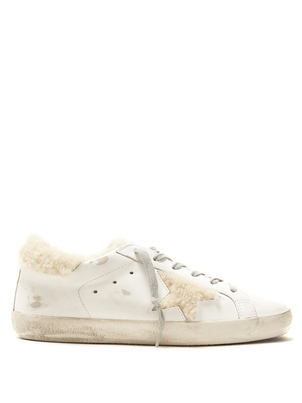 Golden Goose Deluxe Brand Golden Goose Fleece Superstar Sneakers Shoes