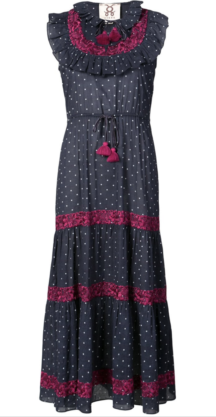 Figue Dotted Dress (Originally $645) Dresses Sale