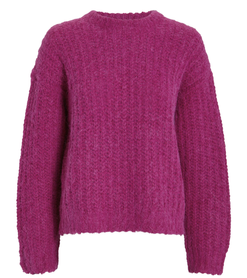 IRO Automne Sweater - Burgundy Sale Tops