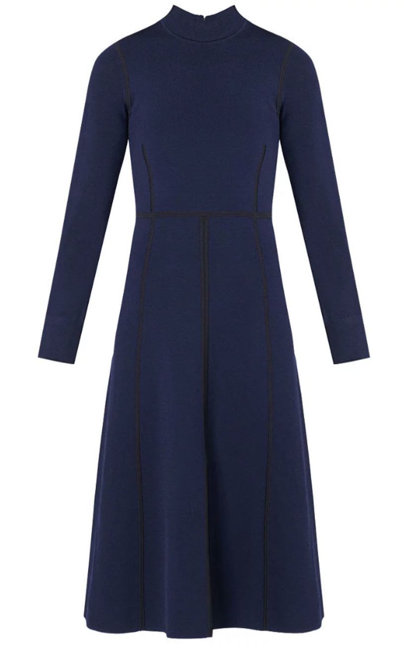 Veronica Beard Beau Dress - Navy Dresses