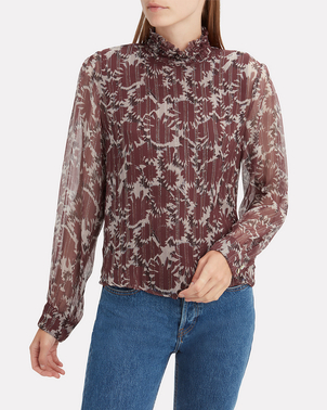 Warm Victoria Blouse (Originally $575) Sale Tops